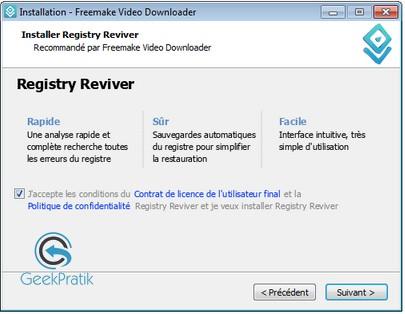 Freemake video downloader Installation 2