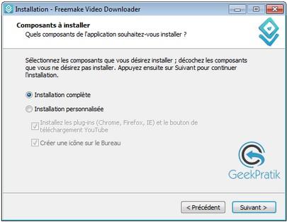 Freemake video downloader Installation 3