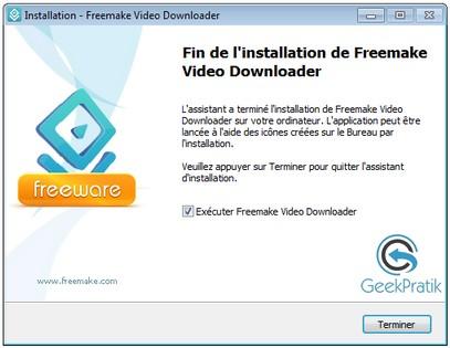 Freemake video downloader Installation 5