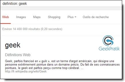Google : définition