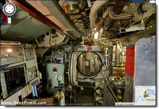 Google : sous-marin