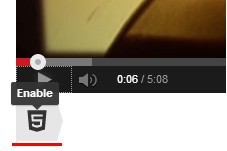 HTML5 Video for YouTube