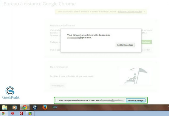 Installer Extension Google