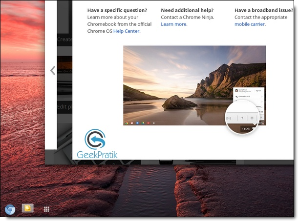 Essayer chrome os