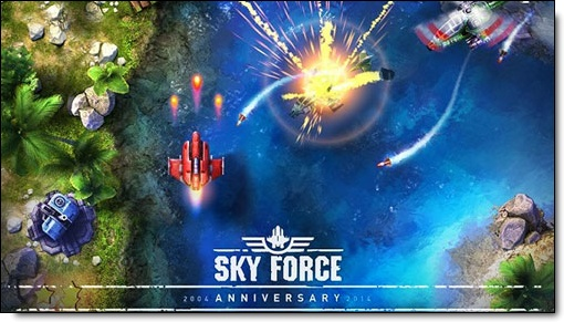 Le jeu : Sky Force 2014