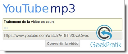 YouTube-Mp3 : Etape 2