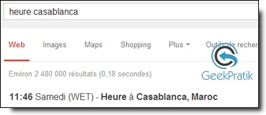 Google-heure