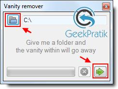 Vanity Remover