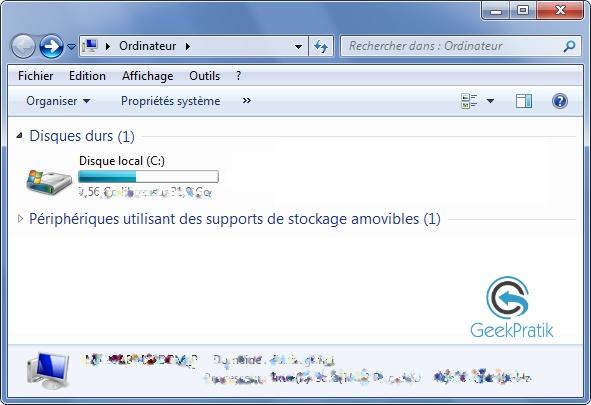 Windows 7 :Explorer