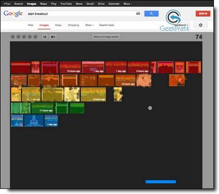 Google : Atari breakout