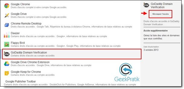 compte google sécurité