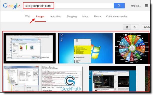 google images geekpratik